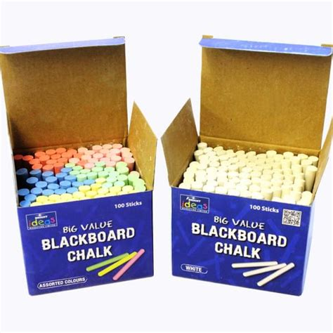 Wholesale Home Decorations blackboard chalk box 100 pieces bright ideas crafts