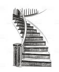 zeichnung treppe staircase sketch stock vector 500701462 istock