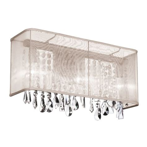 crystal bathroom vanity light fixtures dainolite crystal 2 light bath vanity light reviews