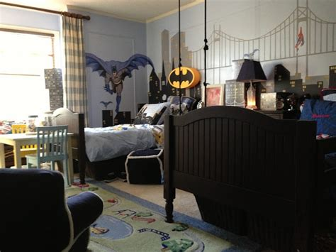 batman bedroom wallpaper superhero boys bedroom for my theoretical children kids