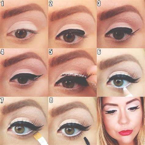 cat eyeliner tutorial step by step cat eye makeup tutorial part i the blog the blog