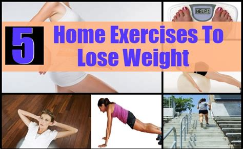 5 creative home exercises to lose weight effectively how