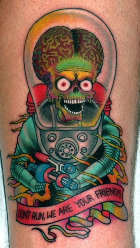 mars tattoo mars attacks awesome tattoos