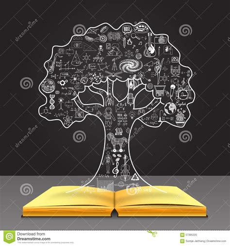 doodle how to make knowledge grow your knowledge concept education doodles in the tree