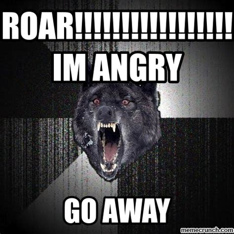 Angry Wolf Meme - angry wolf meme