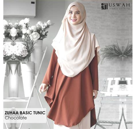 Delta Tunik Blouse Muslim tunic muslimah zuhaa mesra penyusuan saeeda collections