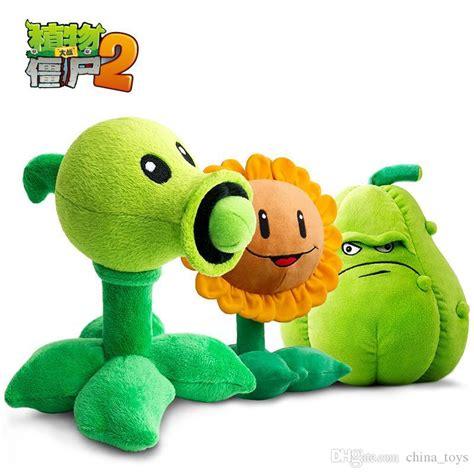 Boneka Pvz Plants Vs Zombies Squash cheap plants vs zombies pvz plush toys peashooter