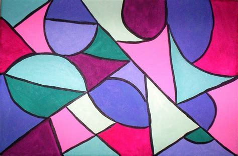 imagenes abstractas geometricas faciles geometrico en tonos pastel silvia elena gallardo
