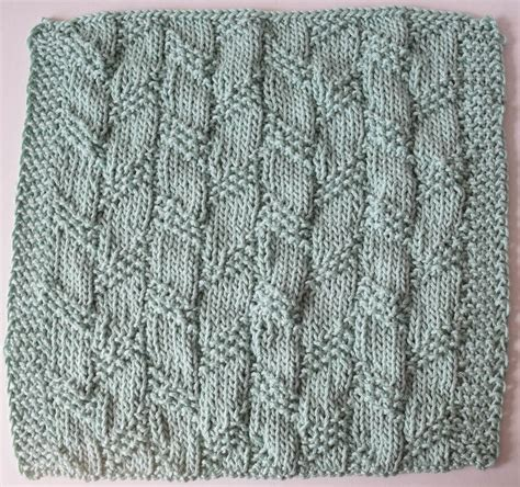 knitting stripes in the knitting pattern diagonal moss stripe dishcloth knitted