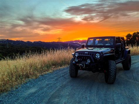 jeep beach sunset jeep of the month august jeep
