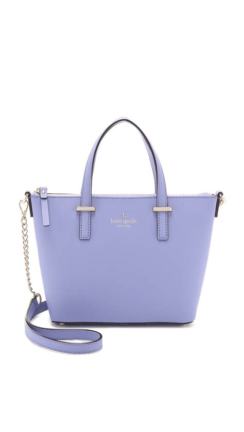 libro kate spade new york lyst kate spade new york harmony cross body bag thistle in purple
