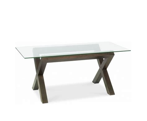 Walnut And Glass Dining Table Lyon Walnut Glass Top Dining Table Uk Delivery