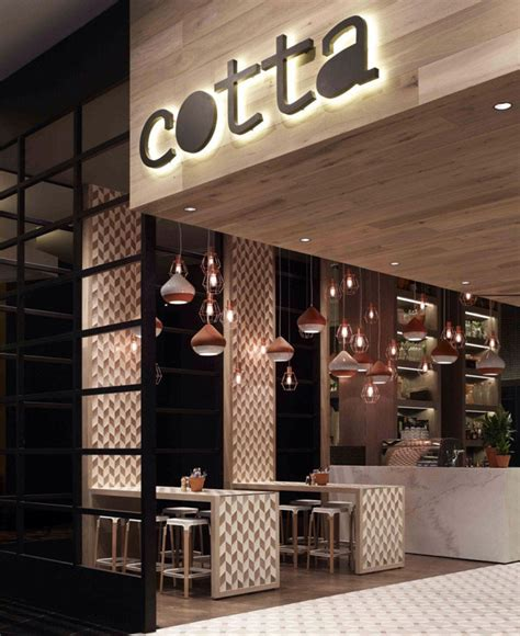warm and rustic cafe interior interiorzine