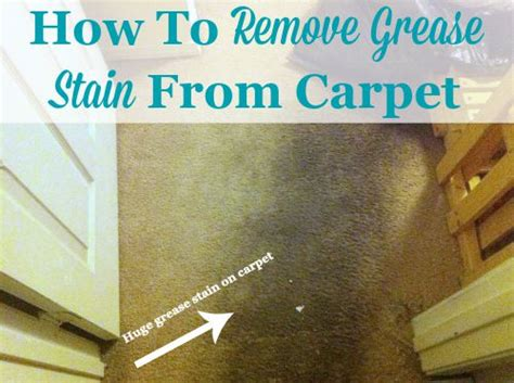 how to remove stains from rugs remove grease from carpet with