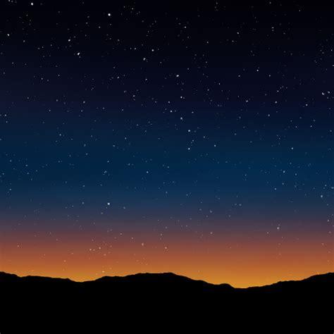 stars  dusk texture