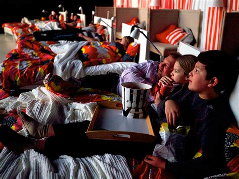 Theater With Beds by Replaces Moscow Theater Seats With Beds
