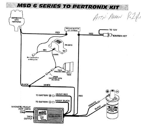 pertronix ignition resistor wire pertronix wiring diagram
