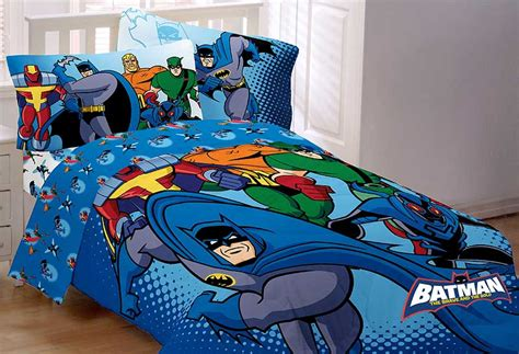 Bold Brave Batman Comforter Twin Superhero Twin Bed
