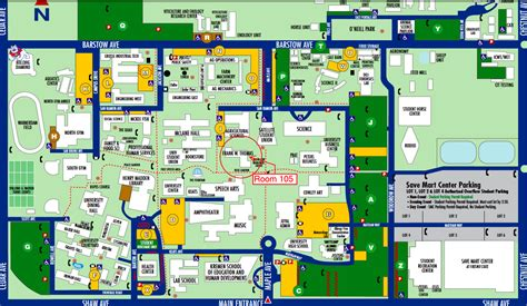 fresno city college map fresno state map map2