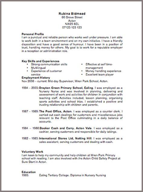 CV Templates   JobFox UK