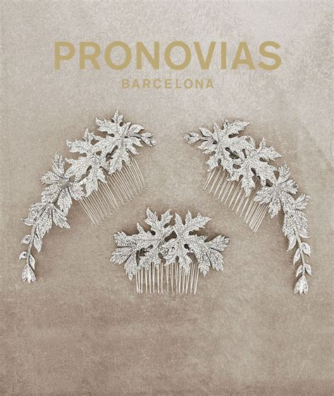 Wedding Hair Accessories Pronovias the 2016 pronovias bridal hair accessories arabia weddings
