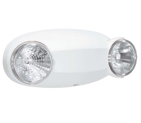 self contained exit light elm2 lithonia lighting thermal plastic 6 v 12 w self