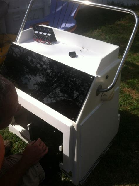 center console replacement for boat wahoo 18 5 offshore refurb the hull truth boating