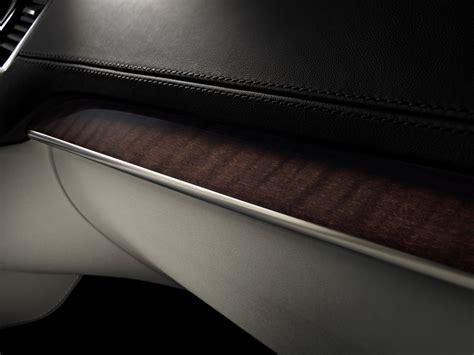 volvo xc interior detail  dark flame birch inlay volvo car group global