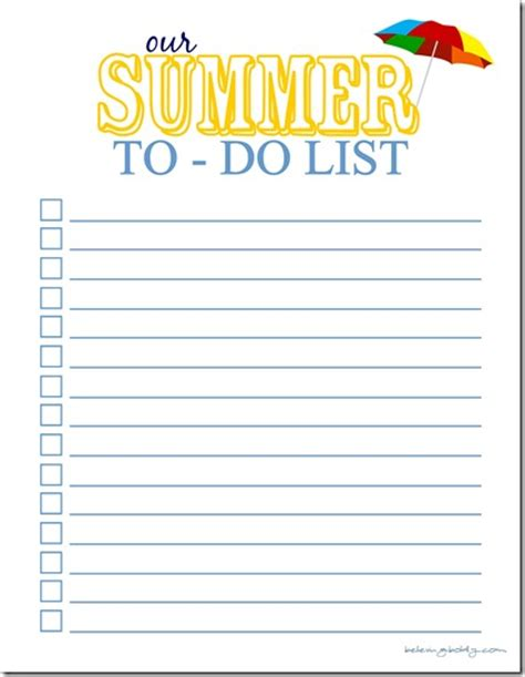 printable to do list for students summer planner free printable 24 7 moms