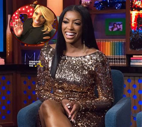 nene leakes and porsha williams will not hold a peach next watch what happens live with andy cohen season 14