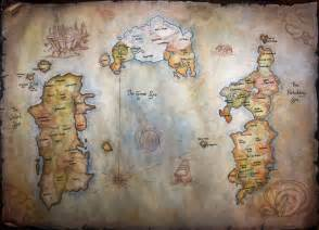 Wow World Map by World Of Warcraft Map By Helevornart On Deviantart