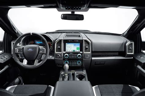 ford raptor interior 2017 2017 ford f 150 raptor prototype begins trail testing w