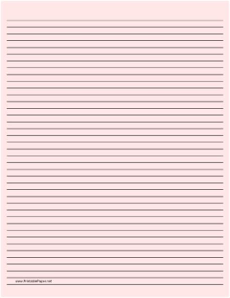 free printable small lined paper printable lined paper light red narrow black lines