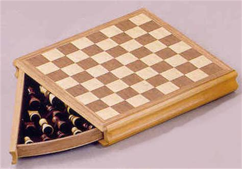 Chess Board With Drawers by Chess Board With Storage Drawer Zin 426094