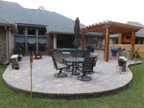 Backyard Patio Designs With Pavers Eco Friendly Patio Pavers Custom Outdoor Conceptscustom Outdoor Concepts