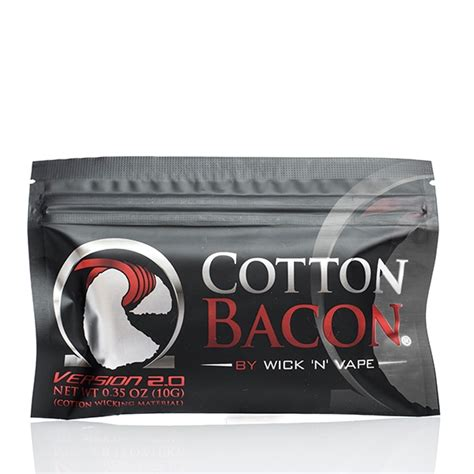 Bacon Cotton By Wick And Vape Kapas Vape Vapor Vaping Rokok Elektrik cotton bacon by wick n vape