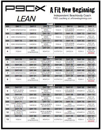 p90x lean calendar search results calendar 2015