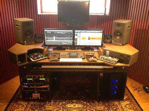 home studio desk design home recording studio desk home furniture design