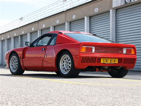 Lancia 037 Stradale Lancia Rally 037 Stradale Concept 1982 Concept Cars