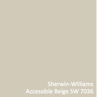 accessible beige parade of homes and colors on