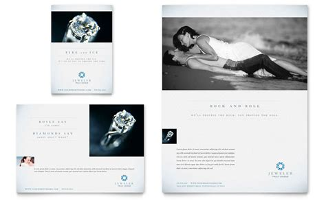 flyer design for jewellery jeweler jewelry store flyer ad template word publisher