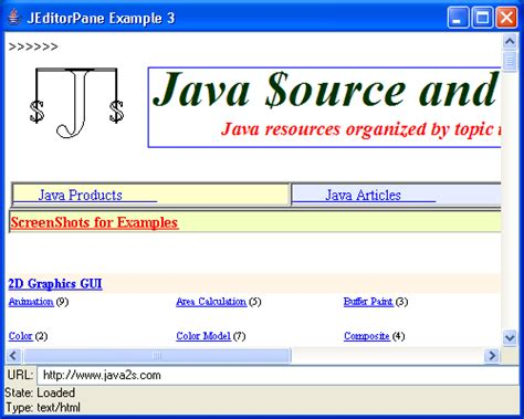 java swing project exle java swing html editor 28 images java swing tips