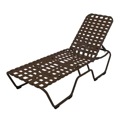Patio Chaise Lounge Marco Island White Commercial Grade Aluminum Patio Chaise Lounge With Putty And White Vinyl
