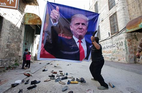 donald trump palestine trump meets palestinian leader abbas and wants mideast