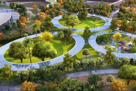 Design Plan Lighting by Dubai Unveils Plan To Develop City S Largest Public Park