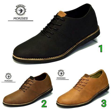 Sepatu Murah Nike Coklat sepatu boots moofeat morises 3 warna hitam coklat pria
