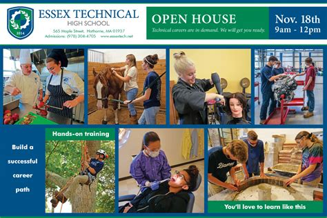 Tech Mba Open House by Open House Saturday November 18 Essex Tech