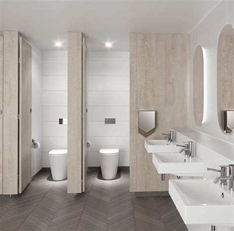 public bathroom design cleanflush caroma specify bathrooms pinterest