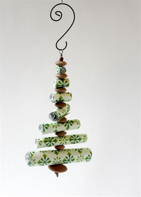 rolled paper christmas tree christmas winter pinterest