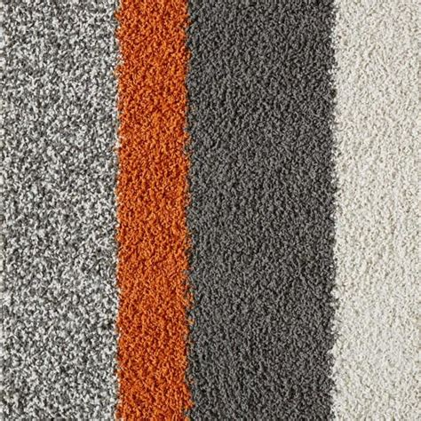 teppich grau orange orange and gray lines carpet tile